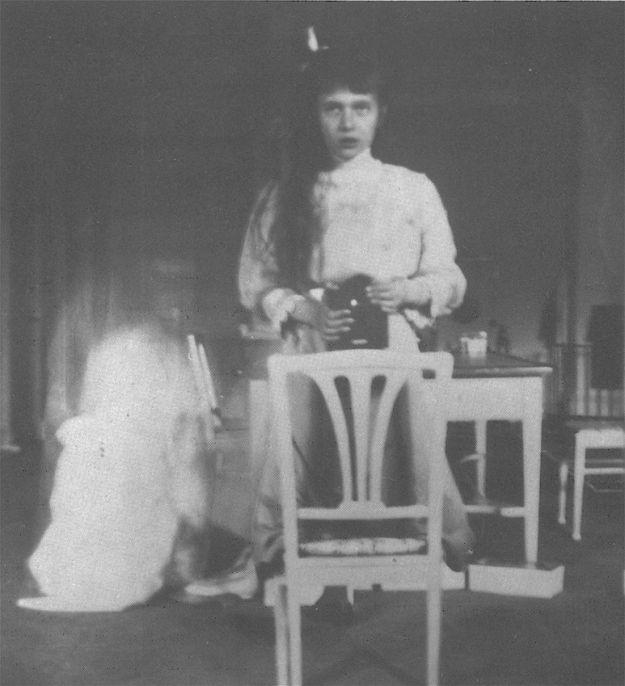 Anastasia e il suo autoscatto