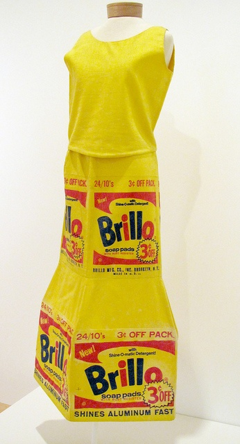 Andy Warhol Brillo Box Dress 1964