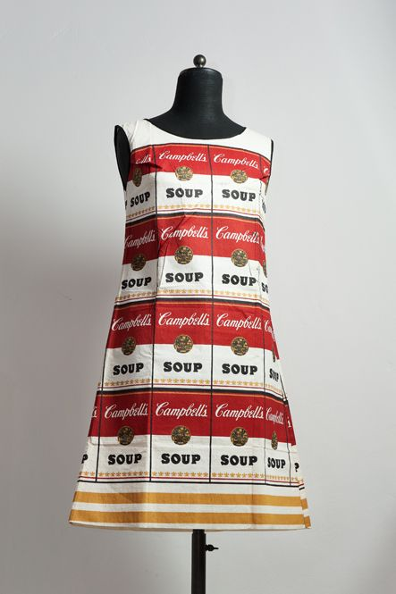 Andy Warhol soup dress 1964