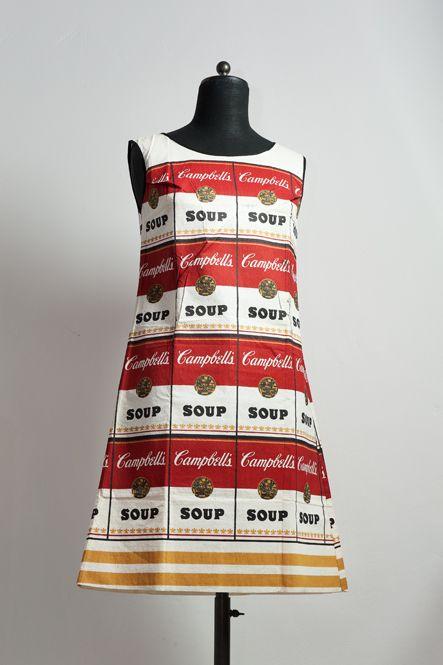 Andy Warhol soup dress 1964