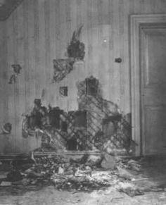 La stanza dopo il massacro