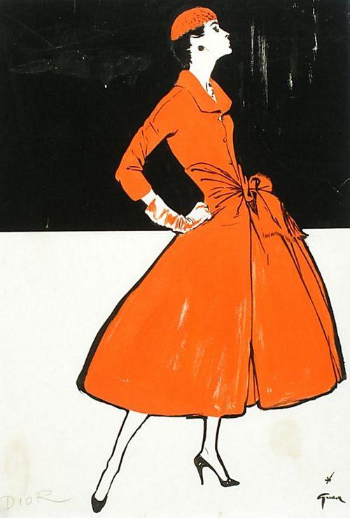 dior by grau 1955