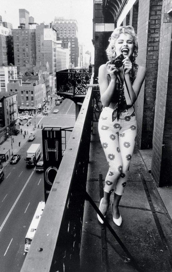 Marilyn o Eva? La Herzigova fotografata nel 1992