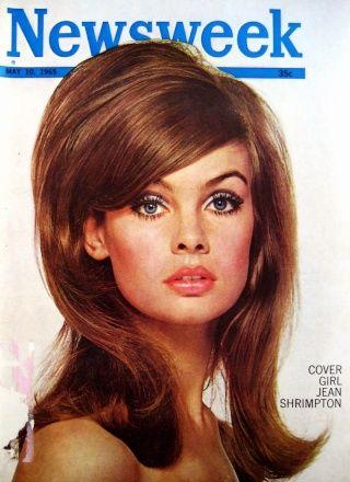 Jean Shrimpton negli anni '60
