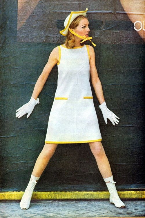 Life Magazine 1965 Andre Courreges fashions, 60s, 60´s