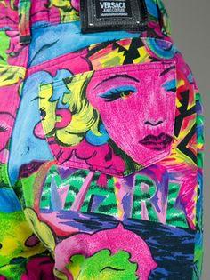 la Pop Art di Gianni Versace