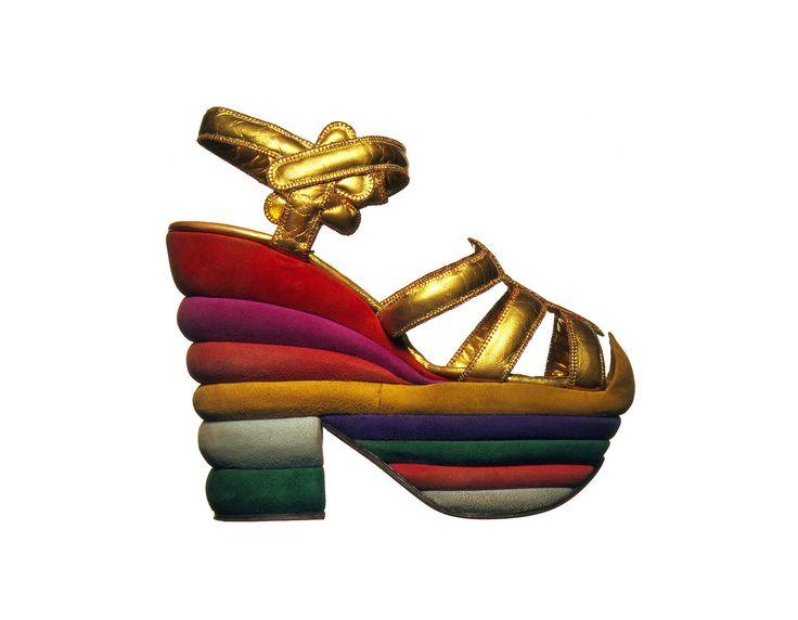 Le calzature realizzate da Salvatorei Ferragamo per la bella Judy Garland - 1938
