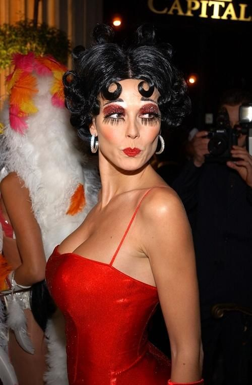 as Betty Boop