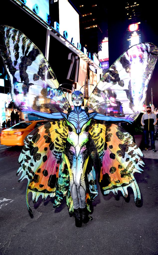 Heidi Klum Talks Halloween 2014 Butterfly Costume