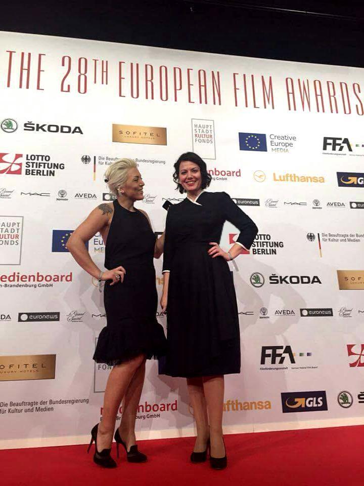 ema ndoja berlin european film festival lerario lapadula kastrati dress kleidung 40s style mode vintage berlino