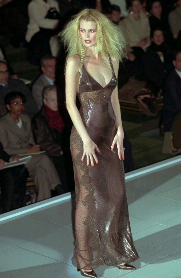 Claudia Schiffer - Versace 1996/97