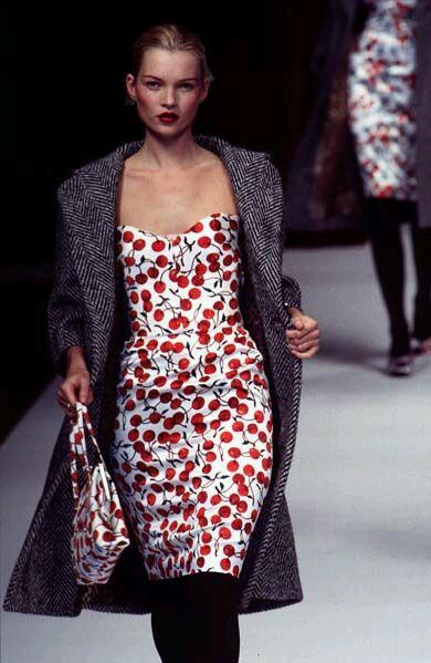 Kate Moss - Dolce & Gabbana 1996