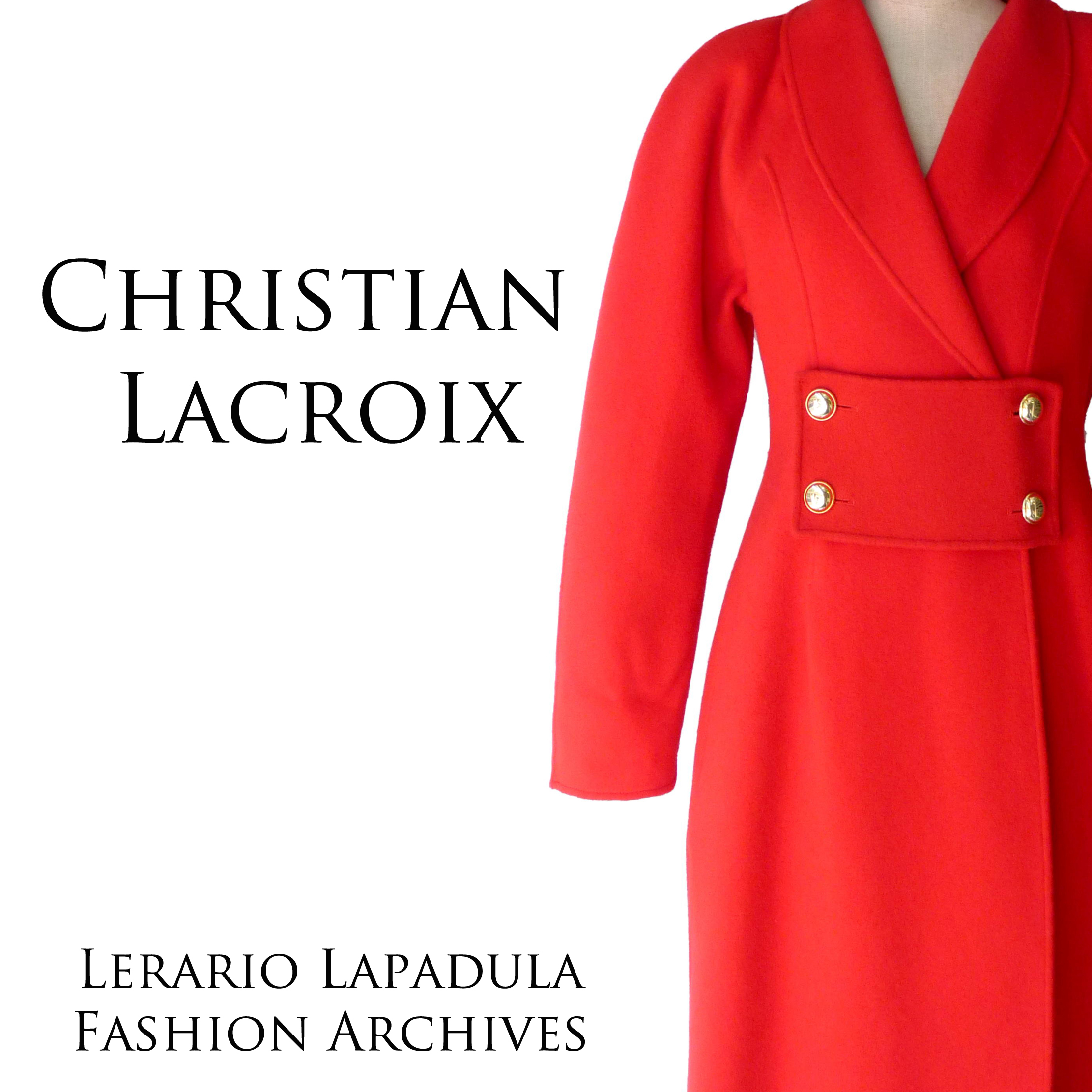 christian-lacroix-vintage-80s-90s-coat-red-wool-lerario-lapadula-fashion-archives