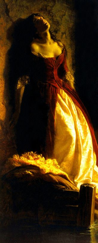 FLAVITSKY, Konstantin Dmitriyevich (1830-1866) Princess Tarakanova, in the Peter and Paul Fortress at the Time of the Flood, detail 1864