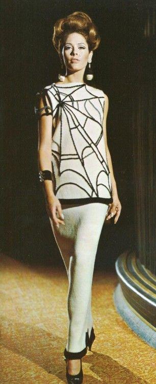 60s spider dress