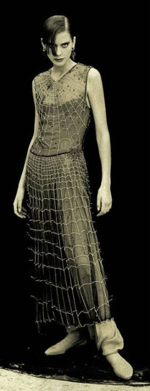 giorgio armani 1990 beaded spider gown dress