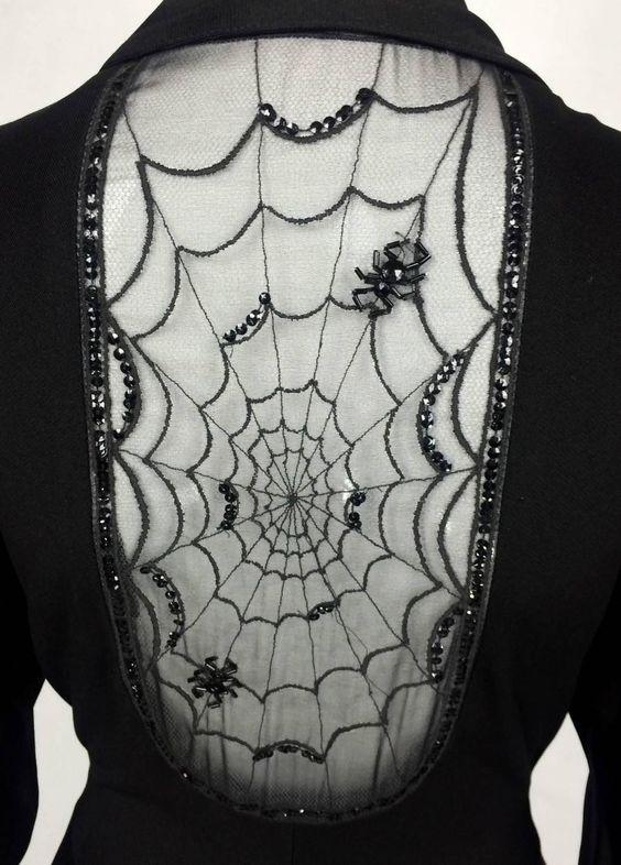 John Bates at Jean Varon 'Cobweb_ Dress 1973
