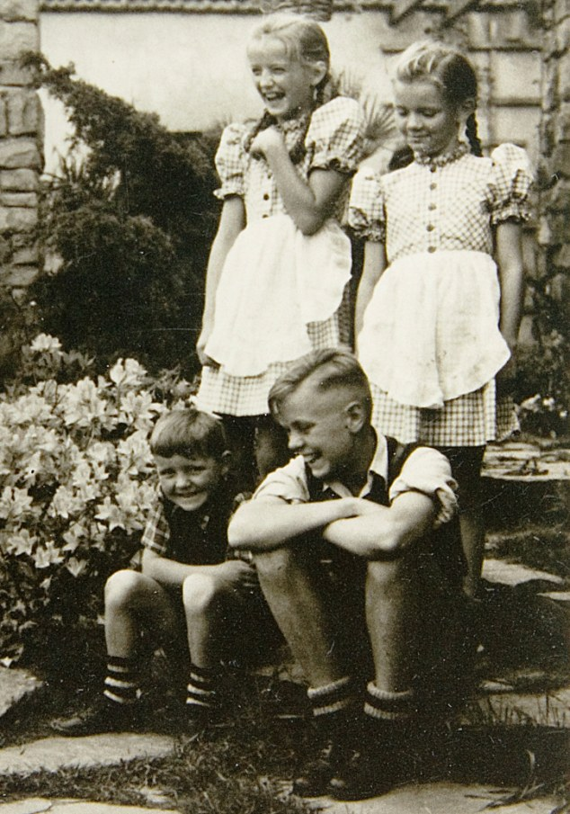 Auschwitz commander's daughter brigitte hoss balenciaga model luciano lapadula