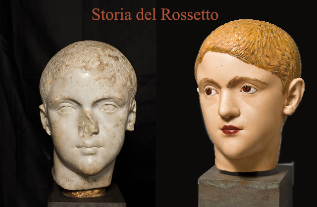 antica roma busto makeup