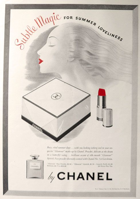 chanel lipstick makeup history storia del trucco rossetto