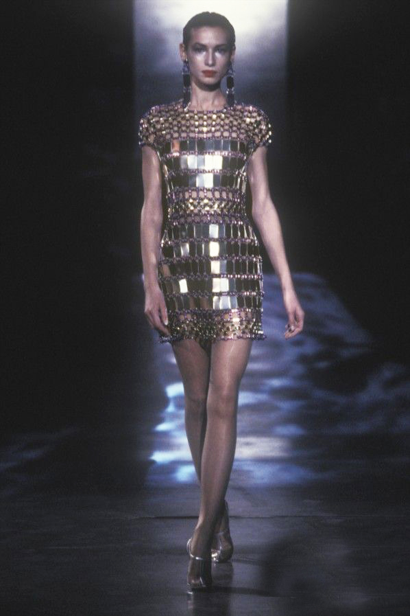 paco rabanne ss 1997 luciano lapadula blog moda storia fashion history