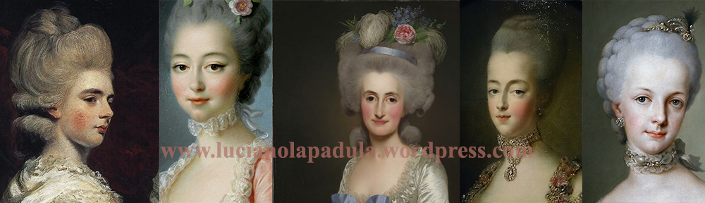 powder face makeup history cipria trucco storia moda luciano lapadula xviii sec 1700 maria antonietta history fashion book macabro grottesco blog