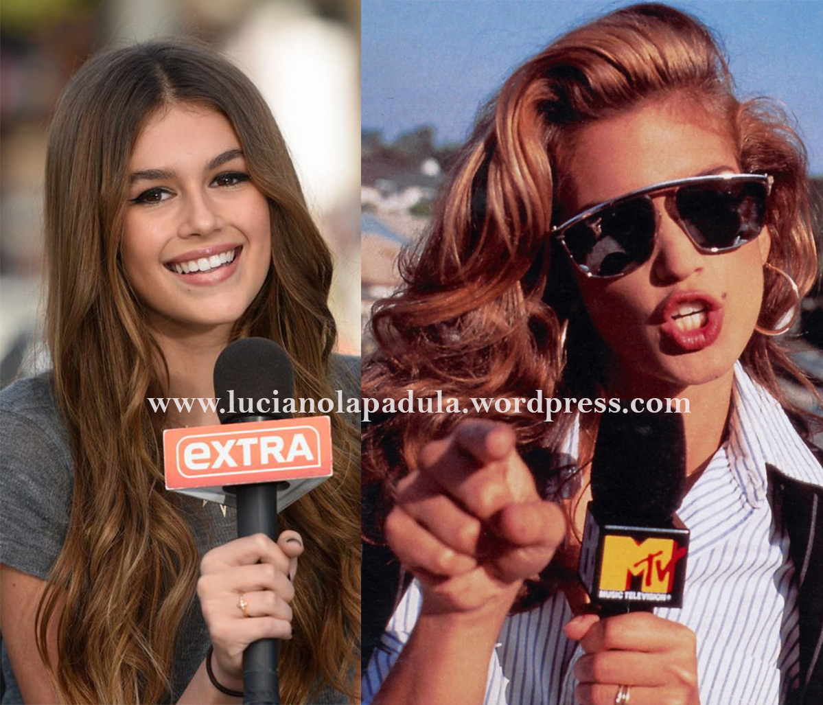 cindy crawford 90s daughter model kaia gerber comparison anorexic blog luciano lapadula blogger fashion expert history versace mtv