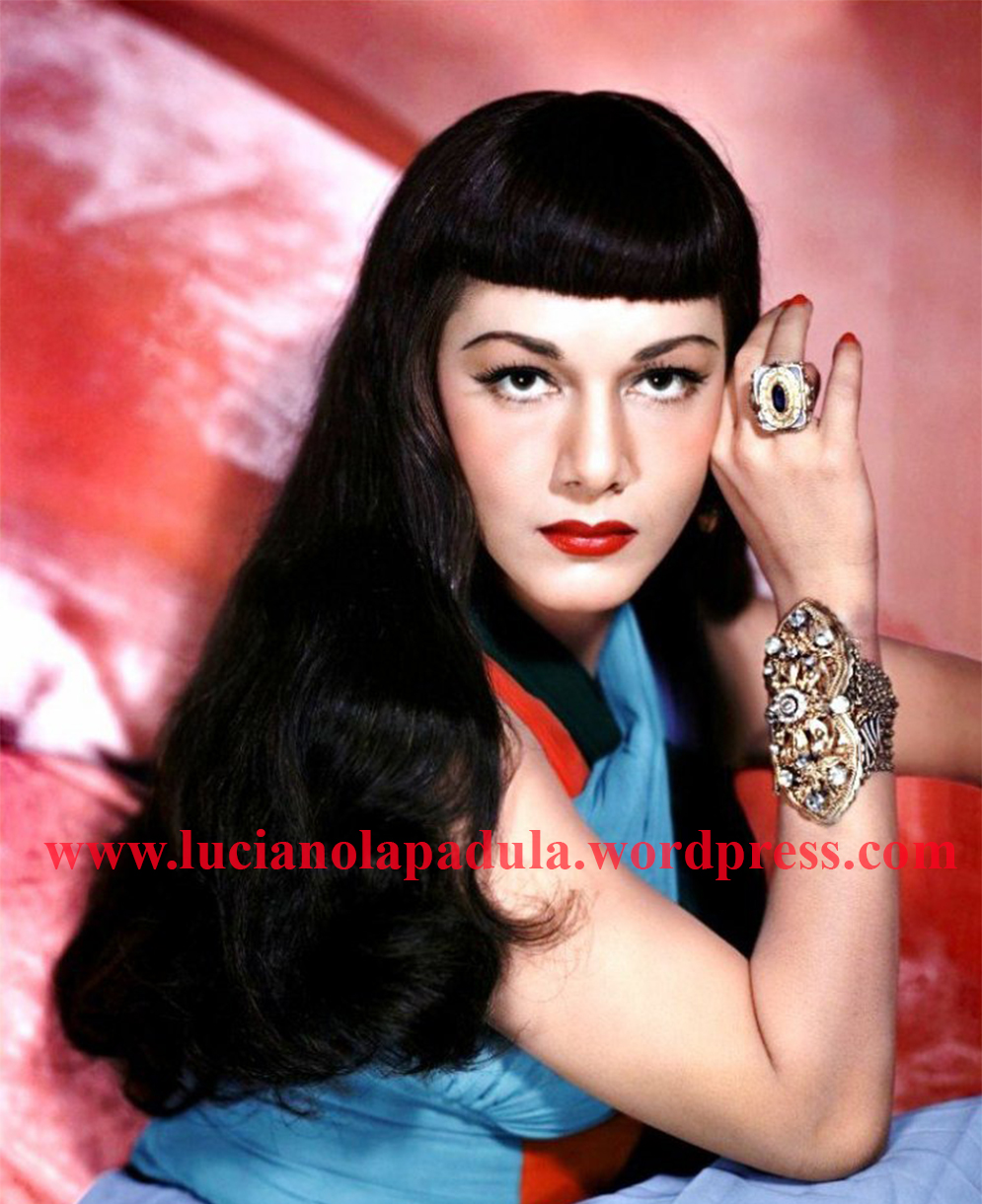 maria montez history fashion cinema luciano lapadula old hollywood blog scrittore blogger moda insegnante historian 1 photography pinup animalier leopard sexy beauty color photo