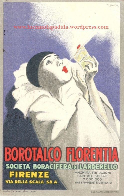 vintage creepy adv blog luciano lapadula sinf orco 1900 20s design graphic fashion art historian writer pierrot gothic