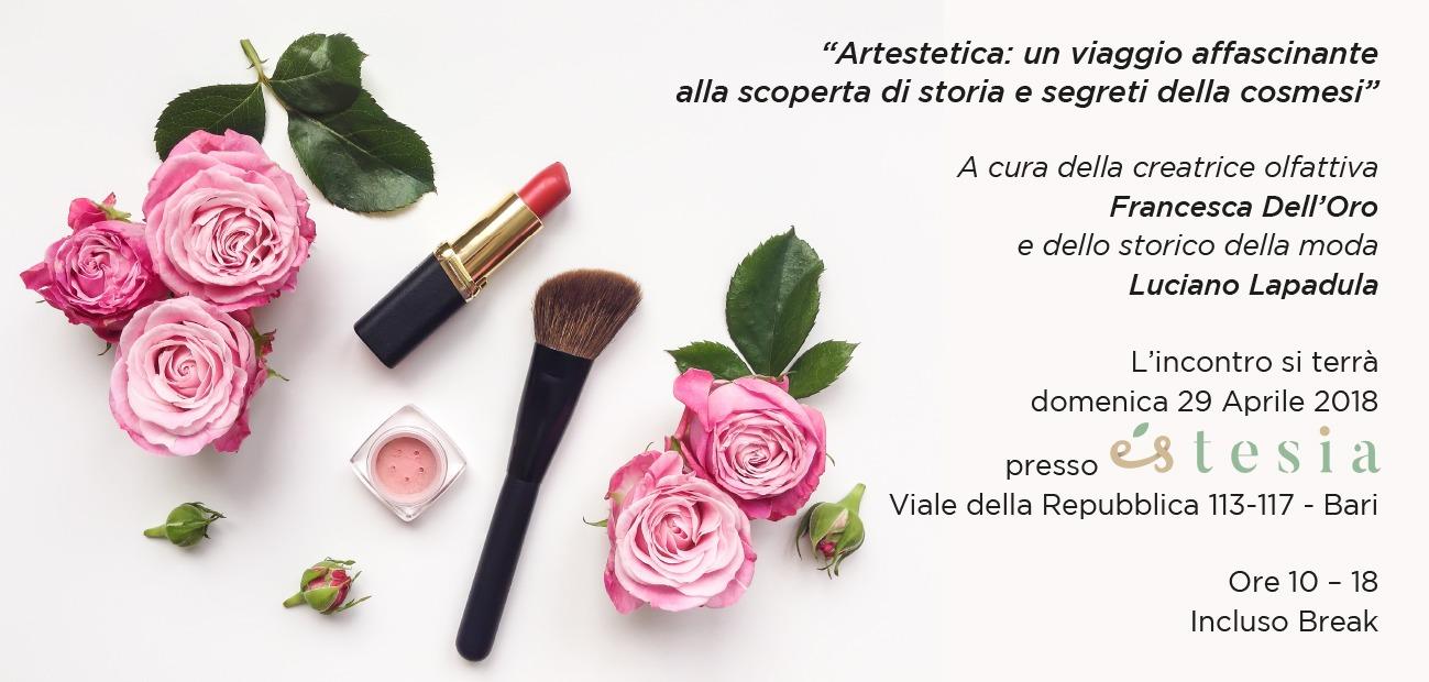 makeup corso estetica artestetica francesca dell'oro luciano lapadula trucco moda estesia bari storia fashion make up