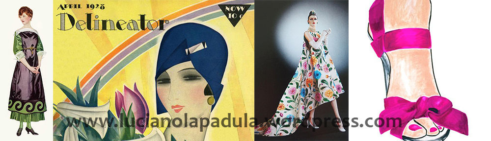 spring 2018 vintage fashion cover design illustration history blog blogger luciano lapadula moda storia cultura magazine art 1918 1928 1958 1938