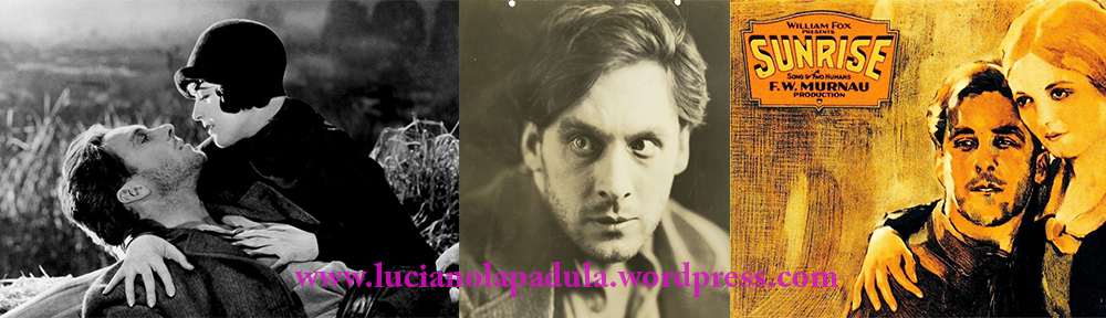 sunrise movie 1927 george o'brien sexy gay men 20s silent film murnau creepy blog blogger luciano lapadula moda fashion history lampoon cinema
