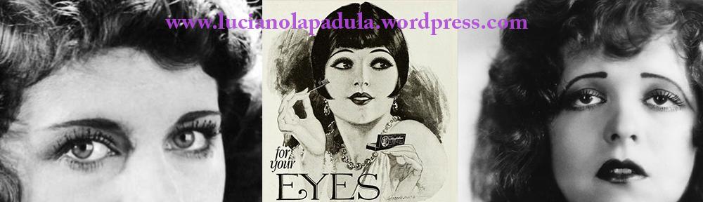 beading makeup trucco history 20s smokey eyes make up historian fashion blog blogger luciano lapadula anni 20 moda storico storia the fashionable lampoon