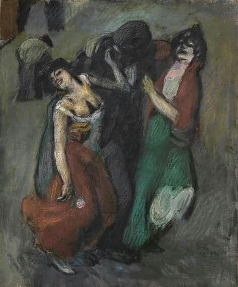 Pablo Picasso, Morphinomans. 1900