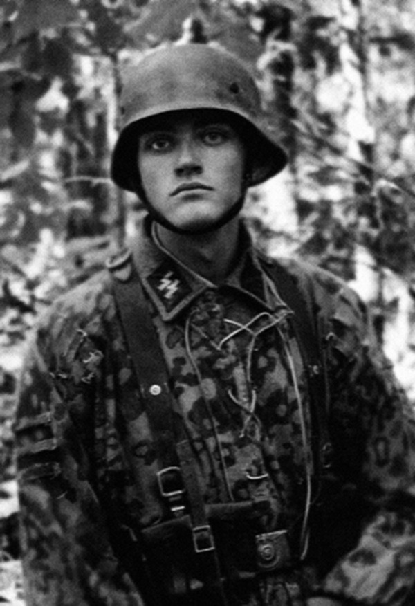 Young Waffen-SS soldie