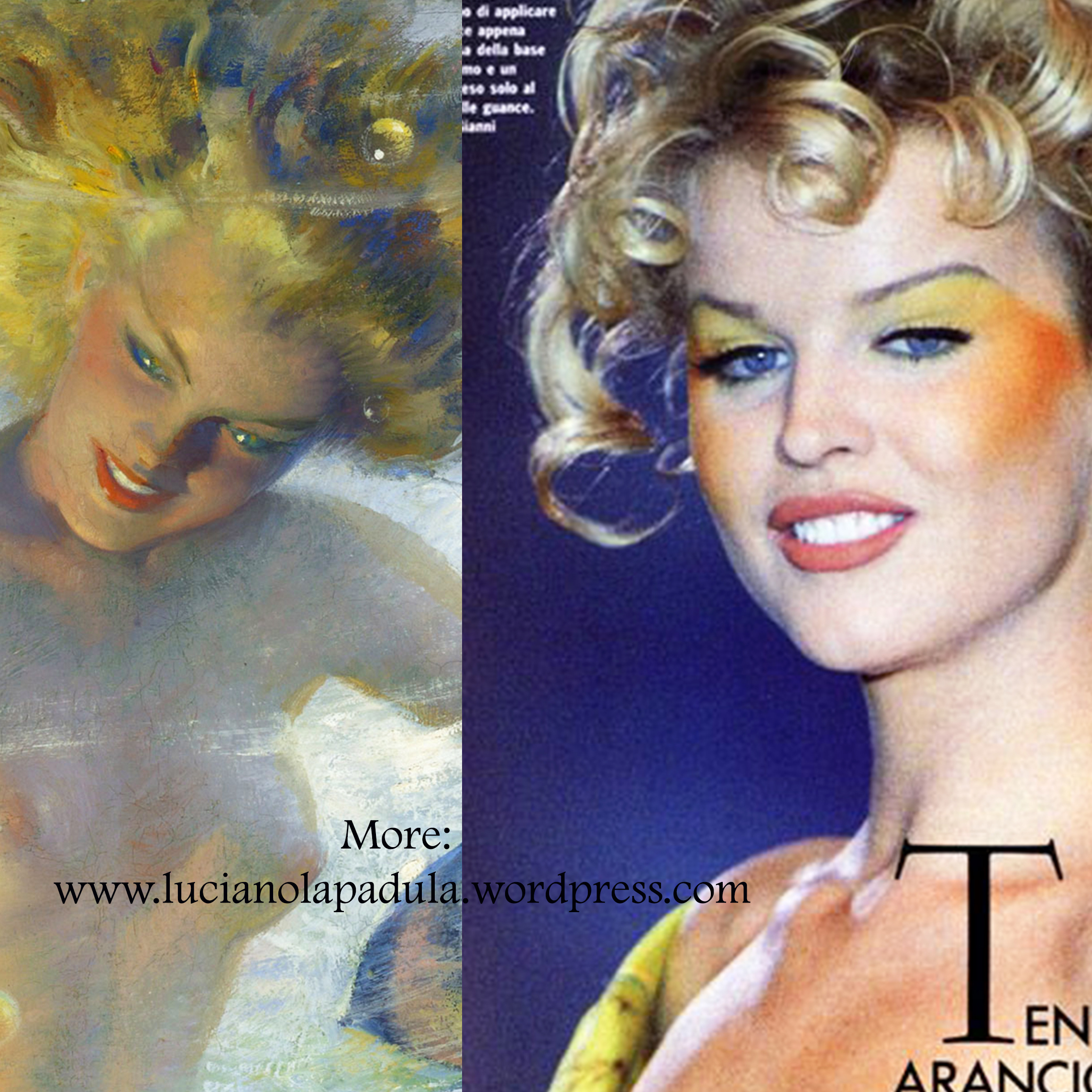 andrew loomis supermodel 90s 40s hairstyle makeup art blog fashion museum storia luciano lapadula moda yves saint laurent ss summer 1996 90er eva herzigova top
