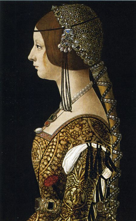 Bianca Maria Sforza cousin and sisterinlaw of Isabella of Aragon Duchess of Milan