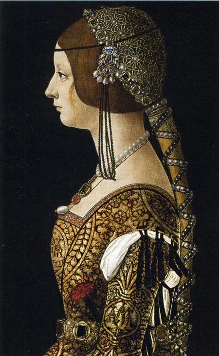 Bianca Maria Sforza cousin and sisterinlaw of Isabella of Aragon Duchess of Milan