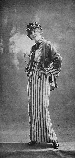 Les Modes (Paris) 1914 Costume tailleur par Redfern