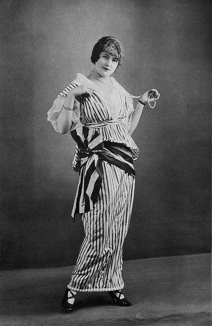 Les Modes (Paris) 1914 Robe d'apres-midi par Zimmermann