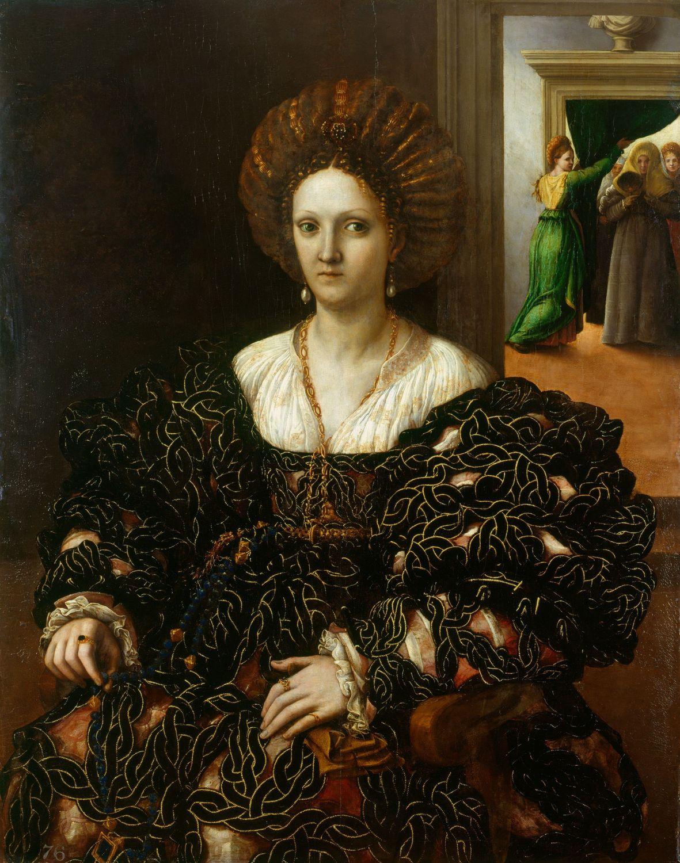Portrait_believed_to_depict_Margherita_Paleologo_by_Giulio_Romano