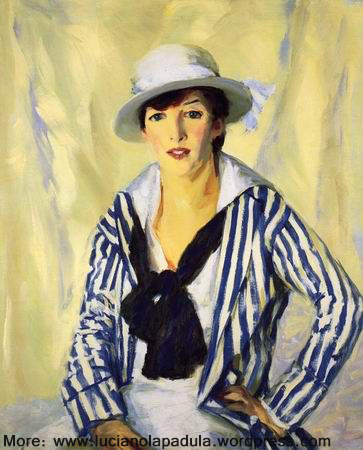 stripes history fashion blog magazine blogger 1910 1900s 1914 1915 art arte moda storia luciano lapadula costume scrittore blogger quadro