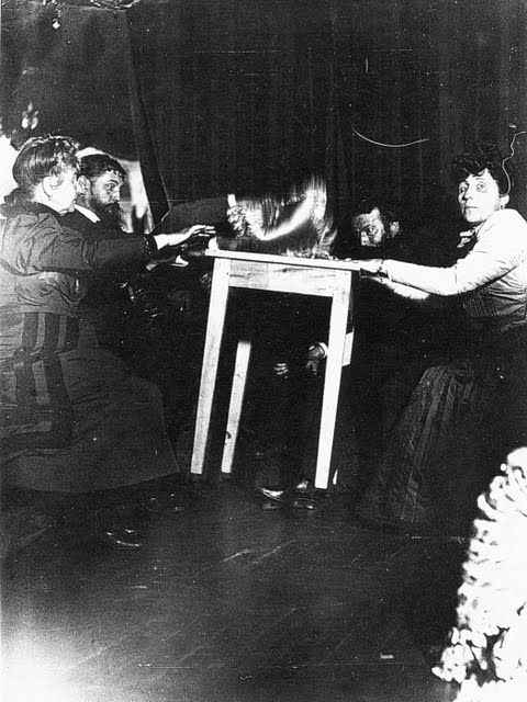 Seance with Eusapia Palladino at the home of Camille Flammario 1898