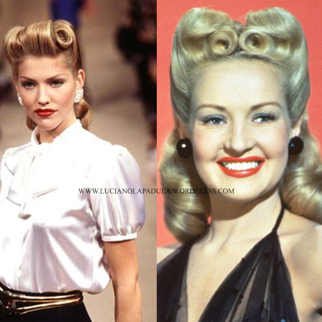 1940s hairstyle hisory fashion storia della moda fashion magazine fashion historian expert hairdresses 40s pinup