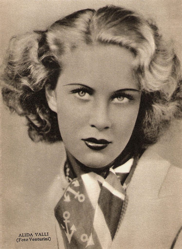 alida valli fascismo cinema Luciano Lapadula blog moda storia attrici nazi beauty creepy moda fashion history photography