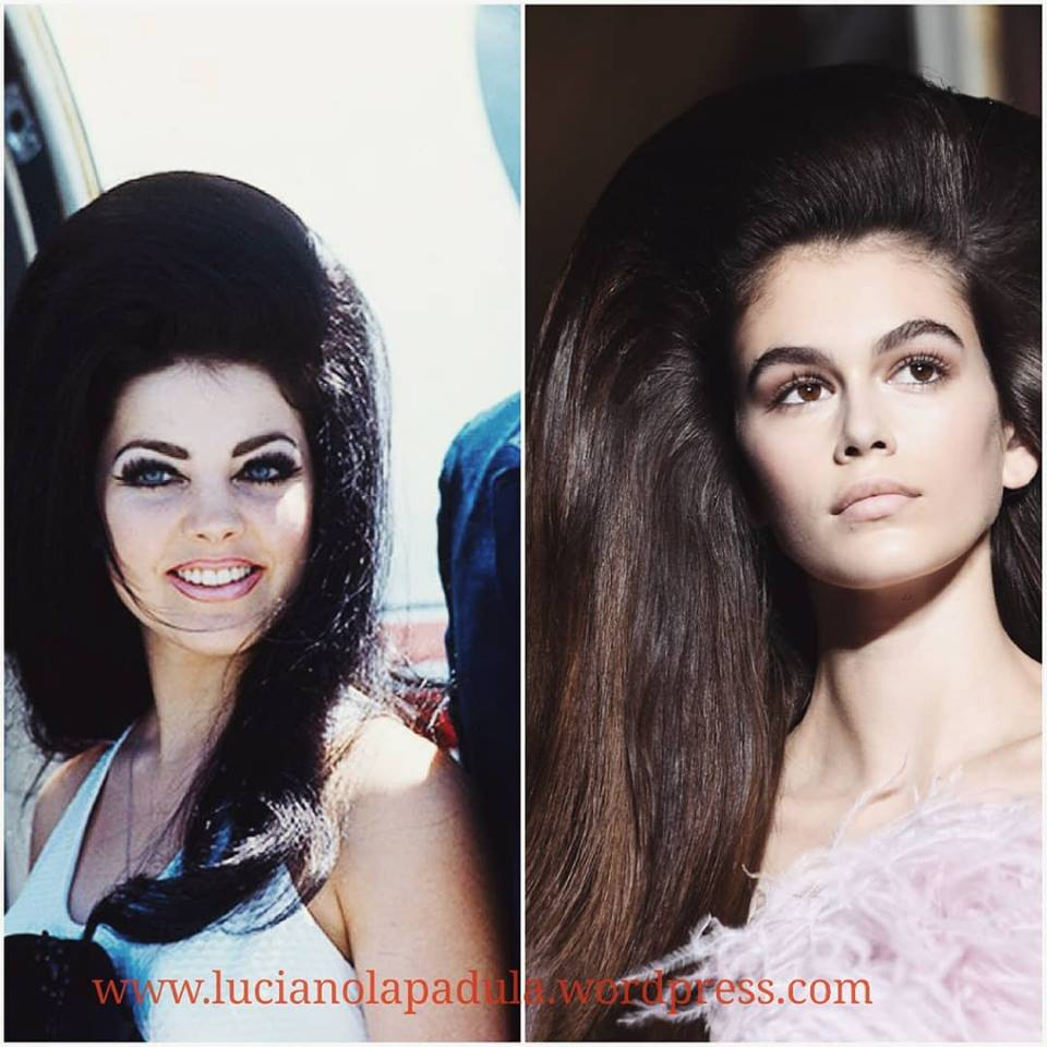 The #bighair of #PriscillaPresley in 1968 are now on #Valentino runway