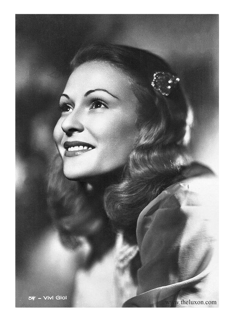 vivi gioi 40s girl woman vintage vintage photography 30s 40s fashion hisotry italian fascist divas the lux on actress