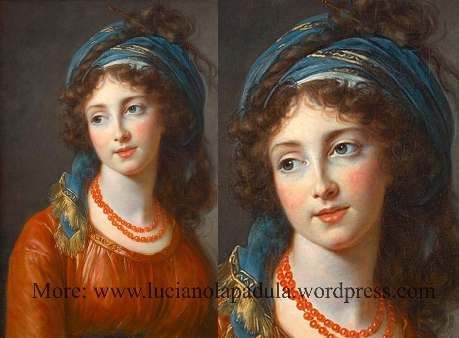1794 Aglae de Gramont, née de Polignac, duchesse de Guiche by Louise Élisabeth Vigée-Lebrun
