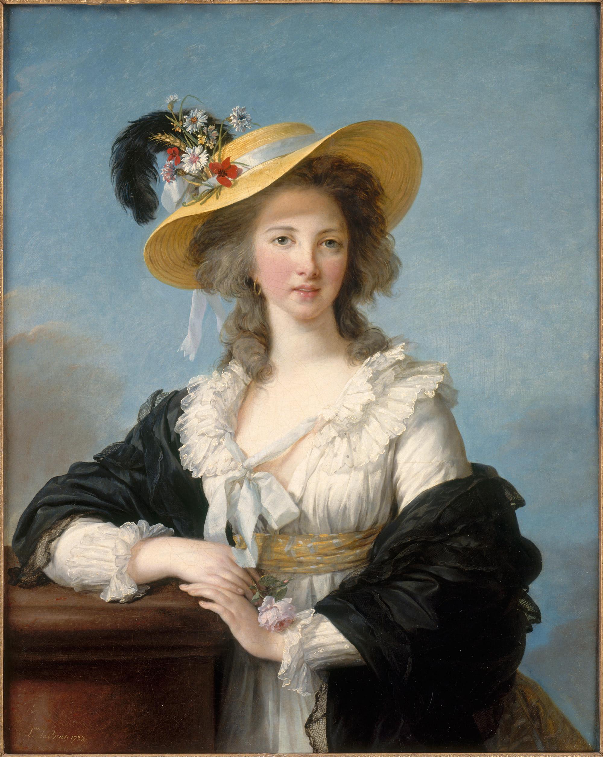 Élisabeth Louise Vigée Le Brun, Gabrielle Yolande Claude Martine de Polastron, duchesse de Polignac, 1782