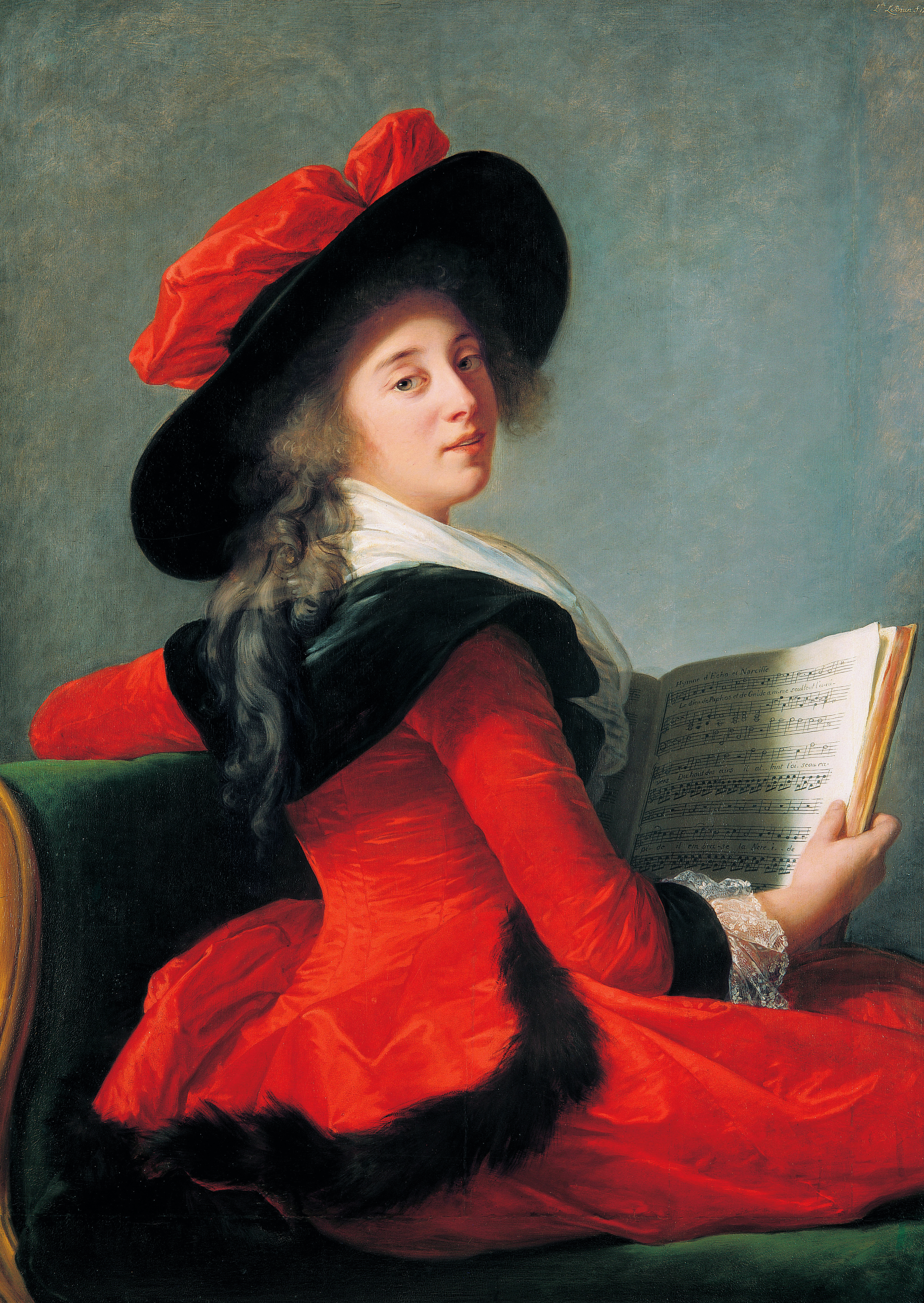 Baroness Bonne-Marie-Joséphine-Gabrielle Bernard de Boulainvilli